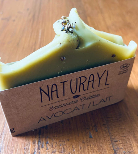 organic shower soap with avocado