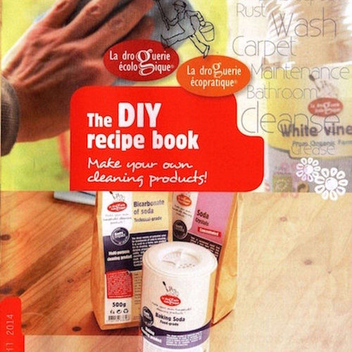 natural cleaning recipe booklet