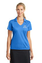 Load image into Gallery viewer, Nike Ladies Dri-FIT Vertical Mesh Polo
