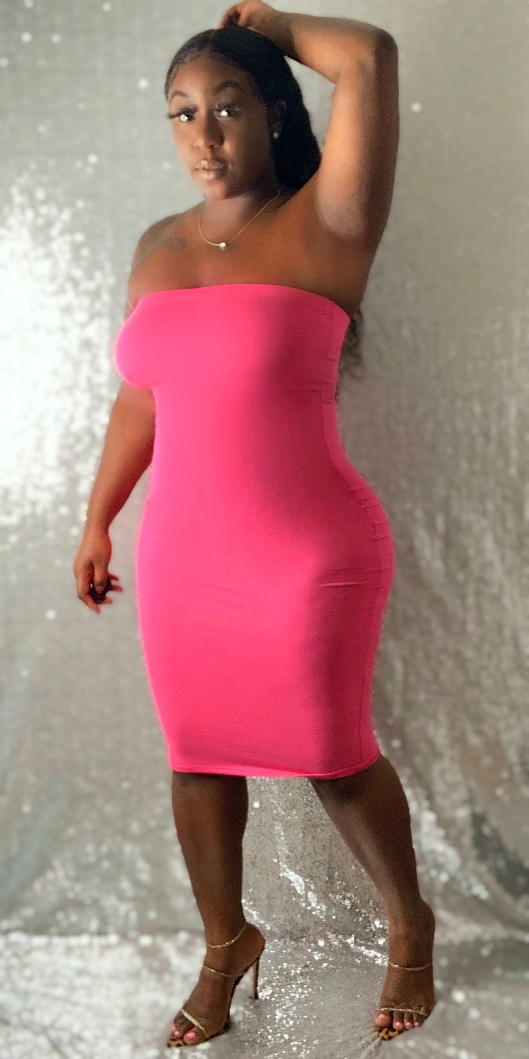 Summer Things Dress (Hot Pink)