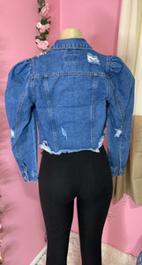 Denim In Distress Jacket