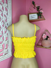 Load image into Gallery viewer, Baby Girl Top (Yellow)