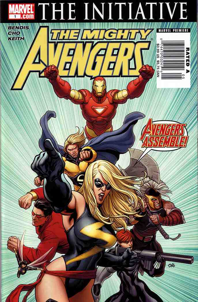 Mighty Avengers - Issue 1