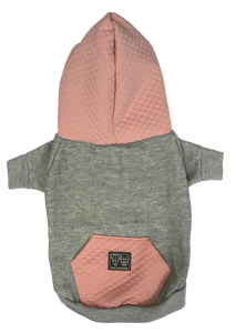 Hoody - Luxe Quilted Blush