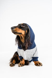 Hoody - Luxe Quilted Navy