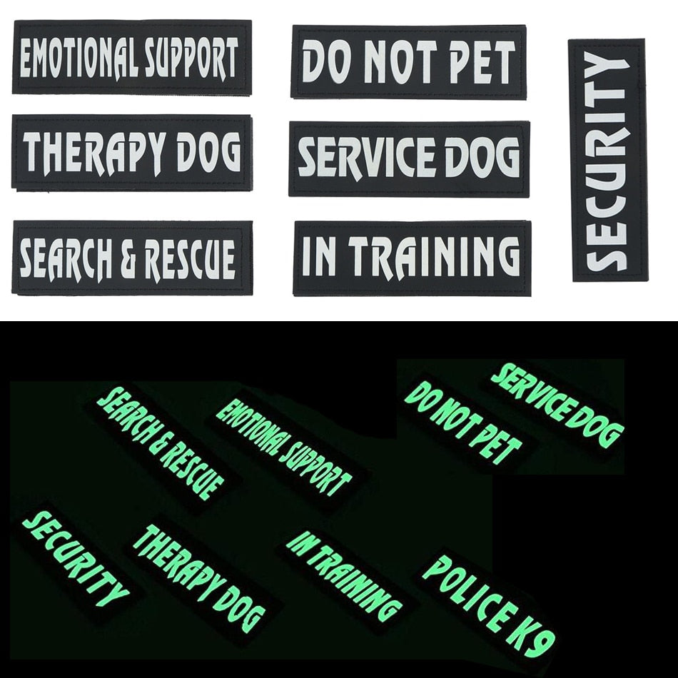 Patches For Dog Harness