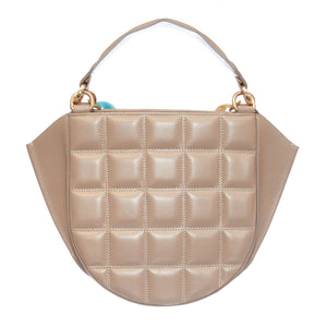 EVA NUDE QUILTED