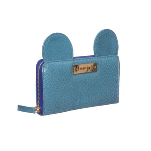AIME BLUE CROCKO WALLET