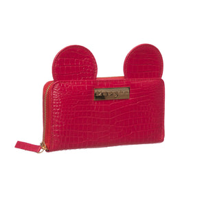 AIME RED CROCKO WALLET