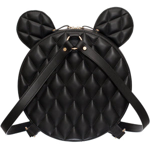 AIME BLACK QUILTED-Backpack-Margée