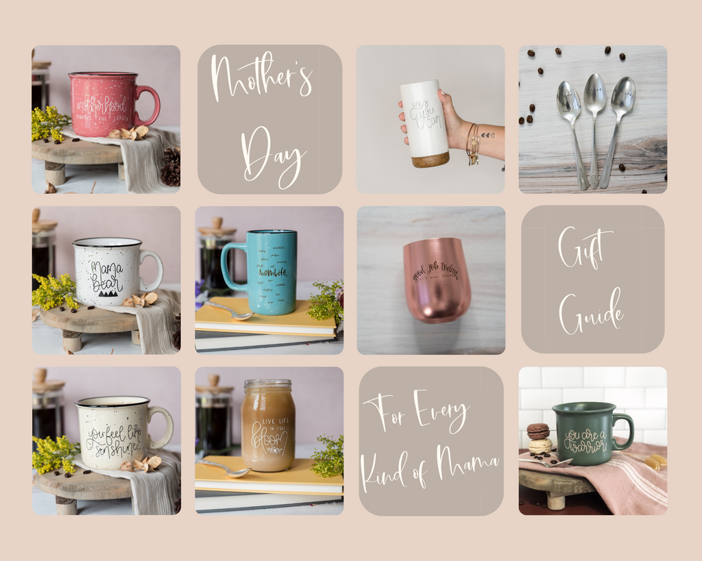 Mother's Day Gift Guide - Made For Mama Shop