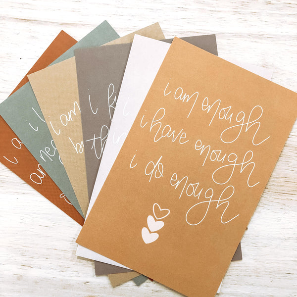 affirmation cards by made for mama shop