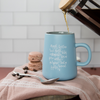 empowered morning coffee mug by made for mama shop