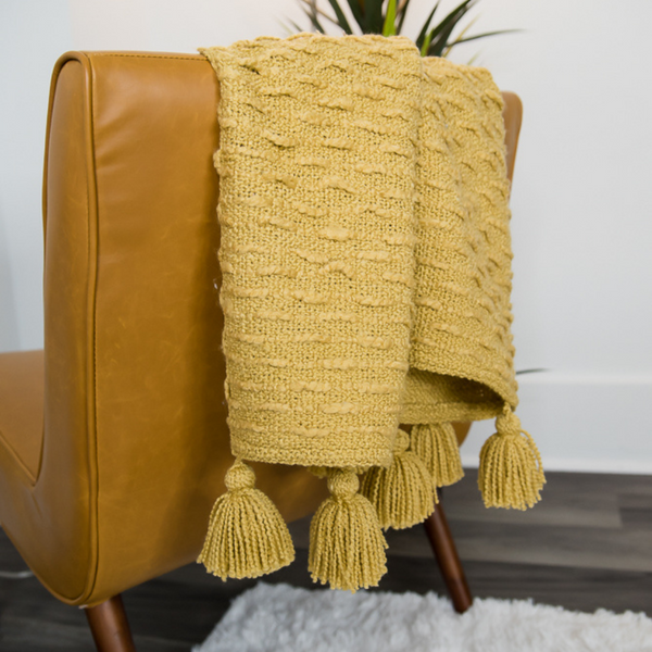 boucle woven throw blanket by made for mama shop