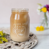 live life in full bloom mason jar by made for mama shop