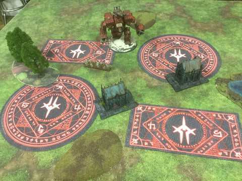 Warmachine: Officially Licensed Infernal Zones