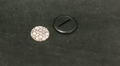 Basing Inserts: Cobblestone 30mm color