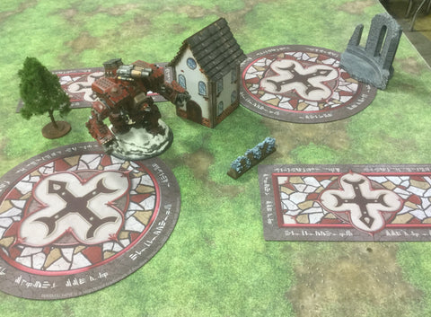Warmachine: Officially Licensed Menoth Zones