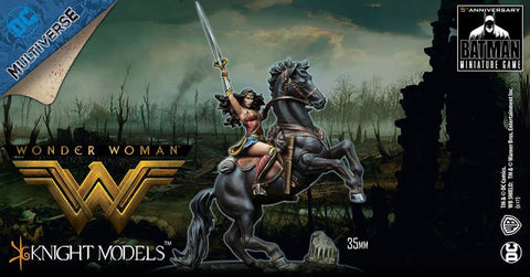 Batman: Wonder Woman On Warhorse