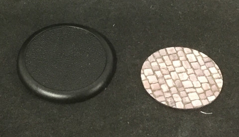 Basing Inserts: Cobblestone 50mm color
