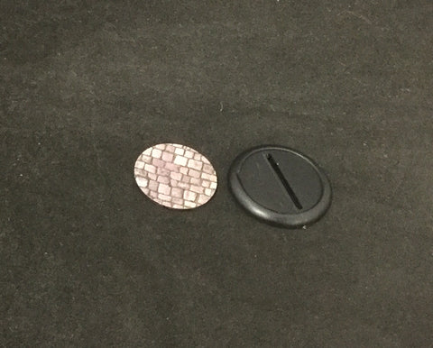 Basing Inserts: Cobblestone 40mm color