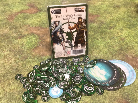Guild Ball:  Hunter's Season 4 full token set.