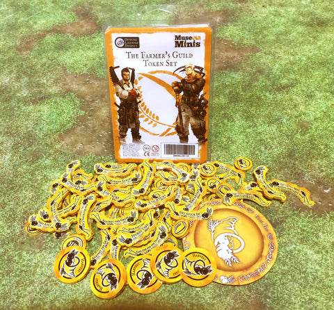 Guild Ball:  Farmers Season 4 token set