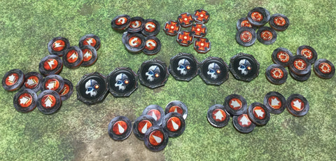 Tokens for Kill Team