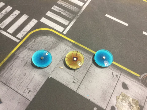 Monsterpocalypse: Wound Dials
