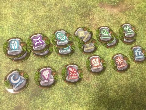 Age of Sigmar: Terrain Token Set