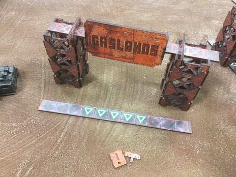 Gaslands: DeathRace Gate Set