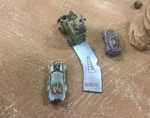 Gaslands: Movement Widget Tray