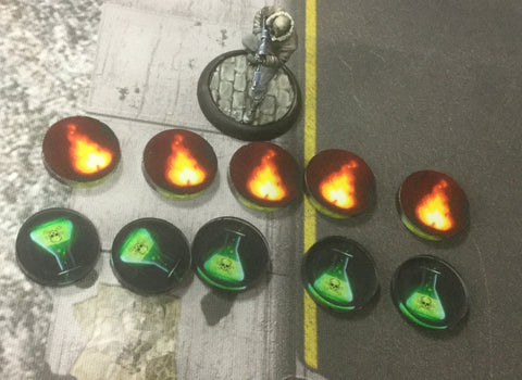 Mean Streets:  Fire/Poison Markers