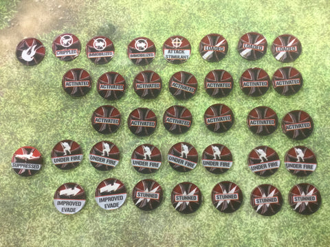 DUST: Officially licensed Axis Token set
