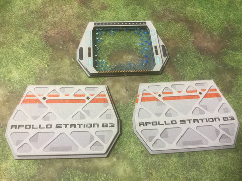 Terrain: Apollo Station 03, Door and Bulkheads