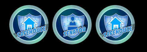Senator/Safehouse Effect Tokens for use with Marvel: Crisis Protocol