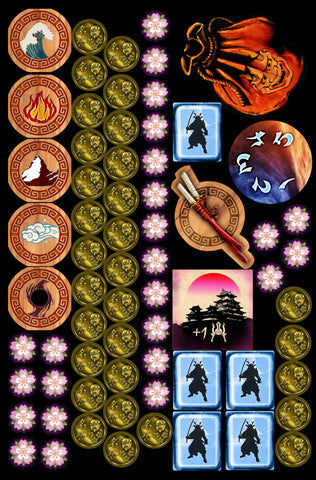 Legends of the 5 Rings token set