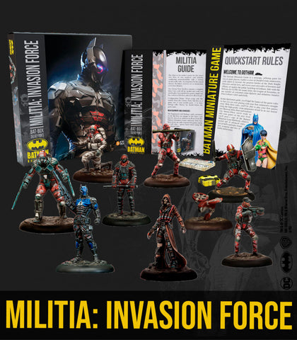 Batman: Militia: Invasion Force