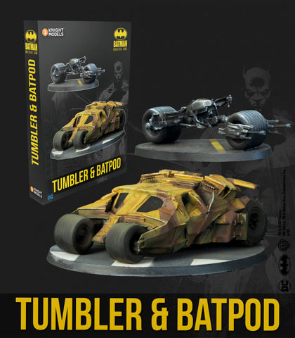 Batman: Tumbler and Batpod