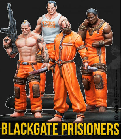 Batman: Black Gate Prisoners Set