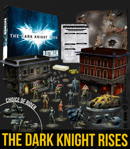 Batman: The Dark Knight Rises box set