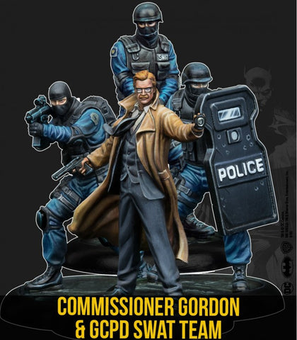 Batman: Commissioner Gordonand the GCPD SWAT Team!