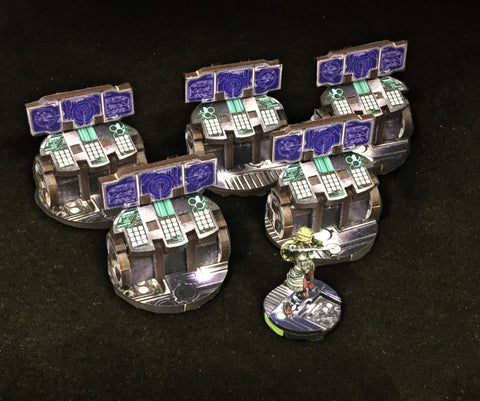 Terrain: 40mm Objectives