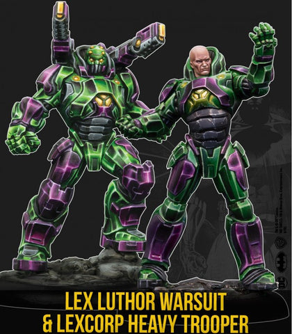 Batman: Lex Luthor in Heavy Warsuit and Heavy Trooper