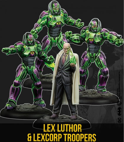 Batman: Lex Luthor and the Lexcorp Troopers