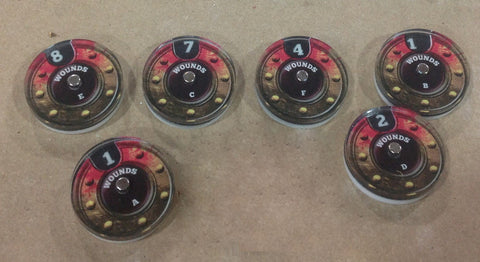Damage Tracker Dials