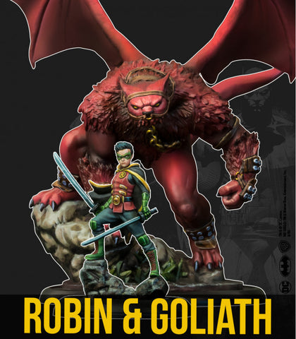 Batman: Robin and Goliath