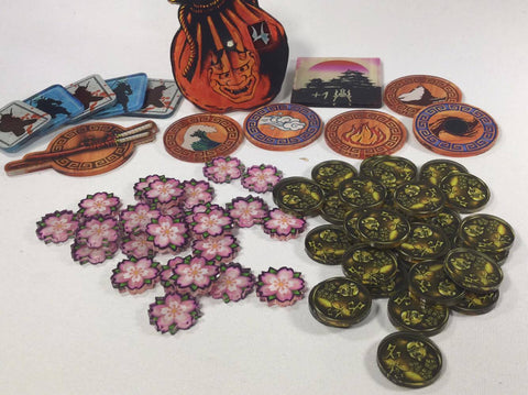 Legends of the Five Rings token set L5R