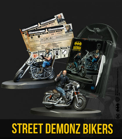 Batman: Street Demonz Bikers