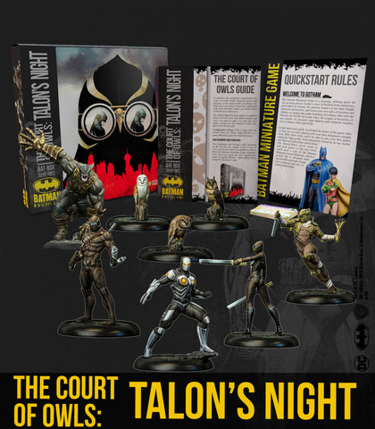 Batman: The Court of Owls: Talon's Night